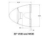 Spinner Assy_20 inch V530 - W530