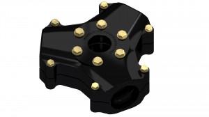 AB 3D300 Hub Assembly_black